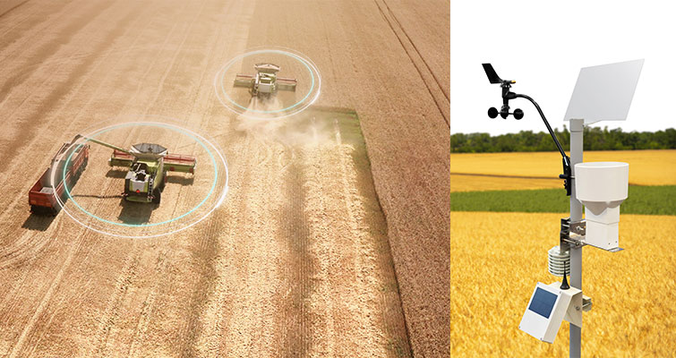 Revolutionize farming automation. Cumucore 5G